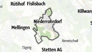 地图 / Niederrohrdorf