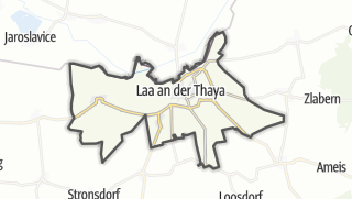 Cartina / Laa an der Thaya