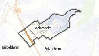 地图 / Welgesheim