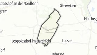 Cartina / Untersiebenbrunn