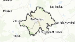 Mapa / Bad Saulgau