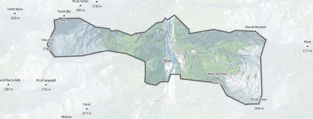 Mapa / Sitios de interés en Cauco