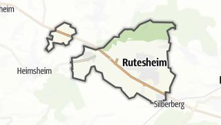 Mapa / Rutesheim