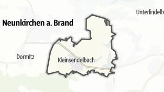 Cartina / Kleinsendelbach