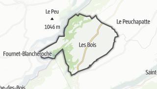 Mapa / Les Bois