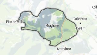 Mapa / Micigliano