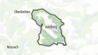 Karte / Adelberg