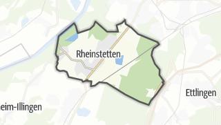 Mapa / Rheinstetten