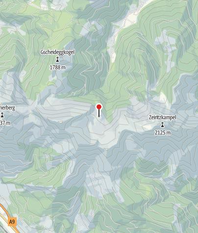 Karte / Seekaralm 1591 m