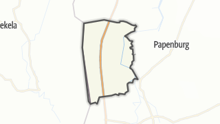 Mapa / Rhede (Ems)
