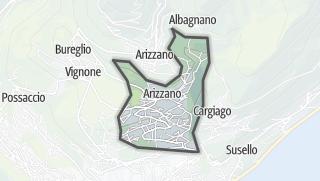 מפה / Arizzano