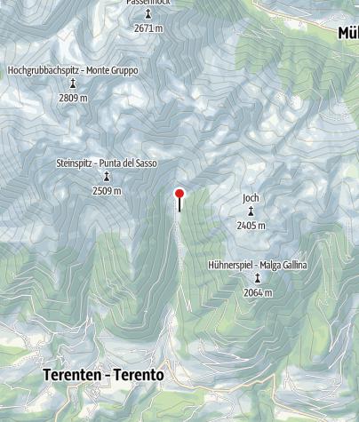Karte / Astnerbergalm