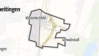 Karte / Klosterlechfeld