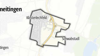 Mapa / Klosterlechfeld