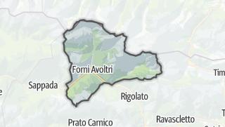 מפה / Forni Avoltri