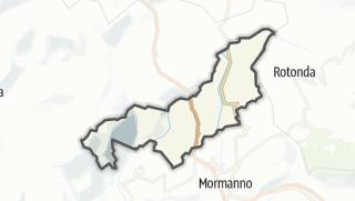 Térkép / Laino Castello
