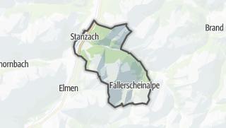 Karte / Stanzach