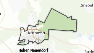 Cartina / Birkenwerder