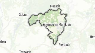 Carte / Schönau im Mühlkreis