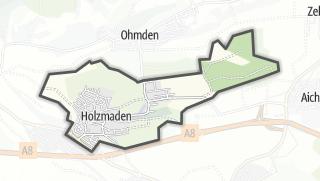 Cartina / Holzmaden