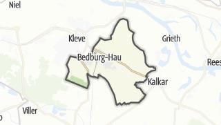 מפה / Bedburg-Hau