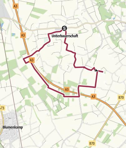Karte / Tourenplanung am 8. November 2013