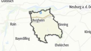 Mapa / Burgheim