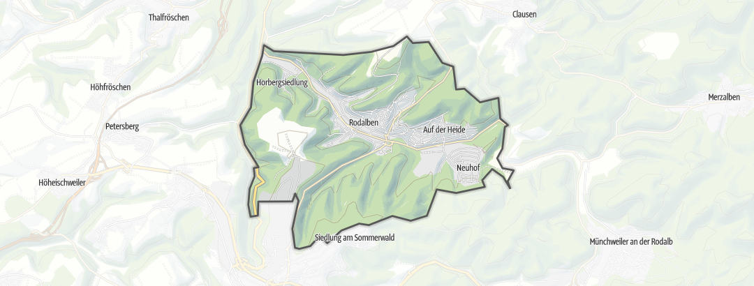 Karte / MTB-Touren in Rodalben