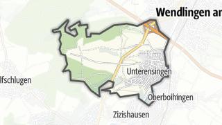 Cartina / Unterensingen