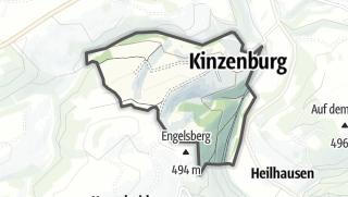 Karte / Kinzenburg