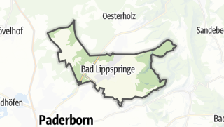 Cartina / Bad Lippspringe