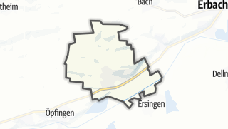 Cartina / Oberdischingen