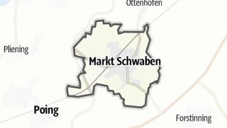 Cartina / Markt Schwaben