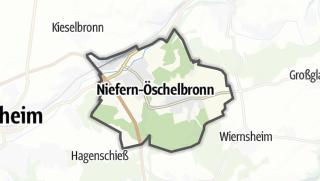 Cartina / Niefern-Öschelbronn