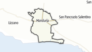 Térkép / Manduria