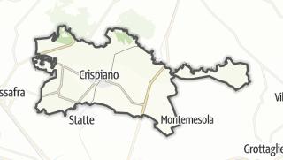 Térkép / Crispiano