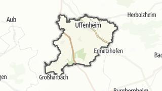 Mapa / Uffenheim