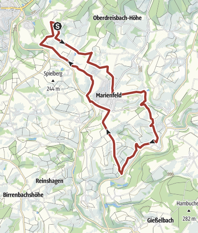 Karte / Much - Böllweg