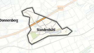 Karte / Standenbühl