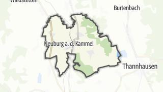 Cartina / Neuburg an der Kammel