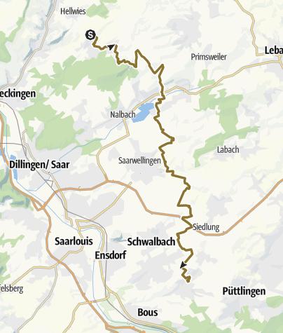 Karte / SiS 3-Tages-Rundritt - Schlemmerritt - 03