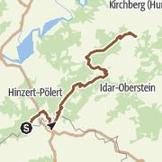 Karte / E3: Hunsrück vom Grimburger Hof nach Rhaunen
