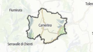 Hartă / Camerino