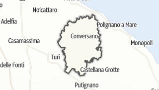 Térkép / Conversano