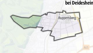 Mapa / Ruppertsberg
