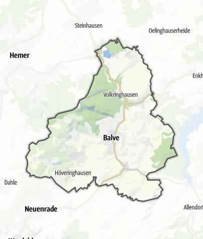 Karte / Balve