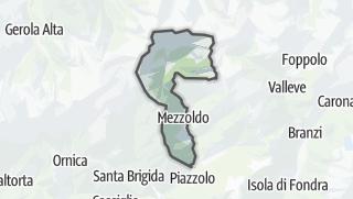 Hartă / Mezzoldo