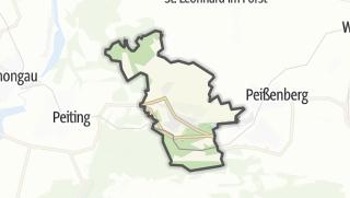 מפה / Hohenpeißenberg