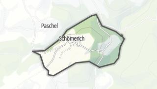 Mapa / Schömerich