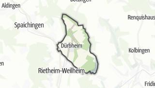 Mapa / Dürbheim